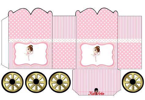 princess carriage template ballerina princess carriage shaped free printable