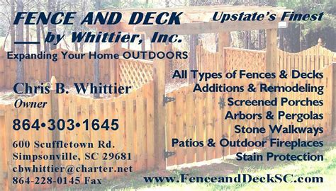 pictures  fence  deck  whittier