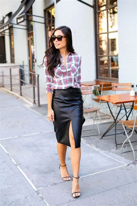 25 best ideas about leather pencil skirts on