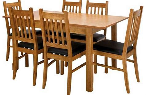 Prices Of Dining Table And Chairs Cucina Oak Dining Table And 6 Chairs Review Compare Prices Buy