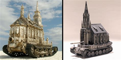 Church Is A Tank by Kris Kuksi Tanks Www Pixshark Images Galleries