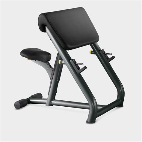 scott bench element scott bicep barbell curl bench technogym