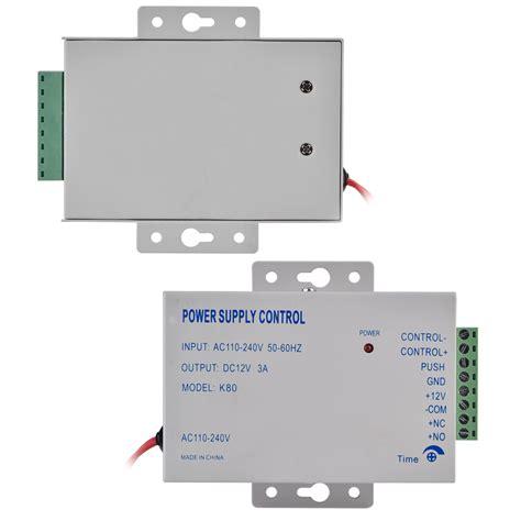 Power Supply 12v 3a Utk Rfid Access Door Lock 3 12v power supply for door access system rfid em