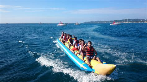 banana boat rides in south beach miami boracay sightseeing attractions