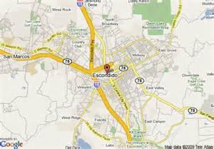 map escondido california map of 8 motel escondido escondido