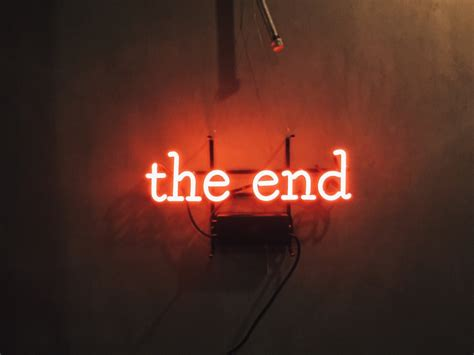 blue song at the end the end aesthetic neon