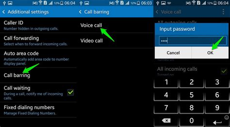 how to block numbers on android how to block calls numbers android ubergizmo