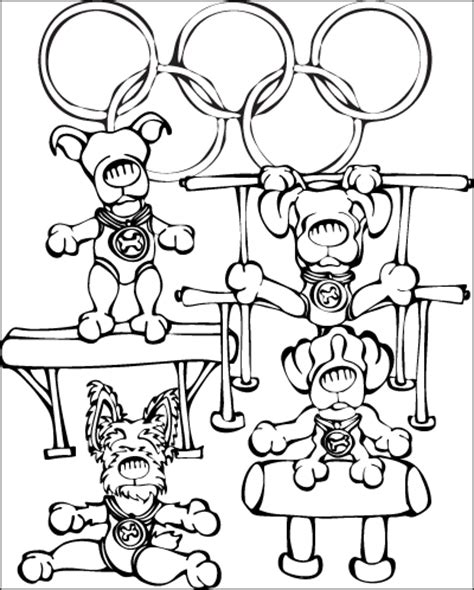 olympic gymnastics coloring pages olympic gymnastics colouring pages page 2