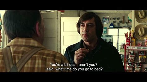 film up country no country for old men coin toss scene hd youtube