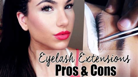 pros andcons of perms eyelash extensions pros and cons youtube