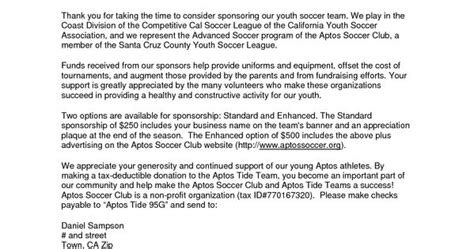 thank you letter to league parents parent thank you letter from youth athletes sponsorship