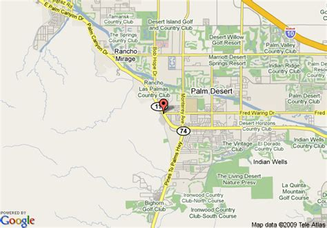 fairfield california us map map of fairfield inn by marriott palm desert palm desert