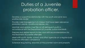 Responsibilities Of Officers by Probation Officers