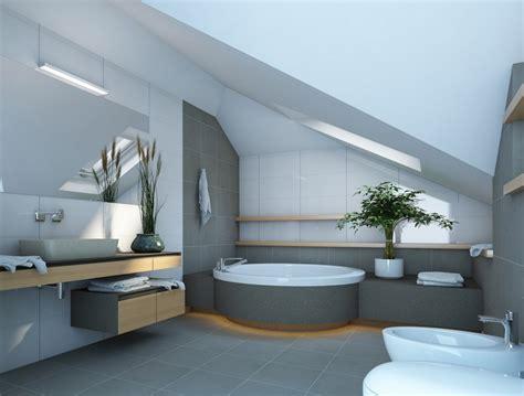 wohnideen badezimmer modern wohnideen f 252 r dachschr 228 dachzimmer optimal gestalten