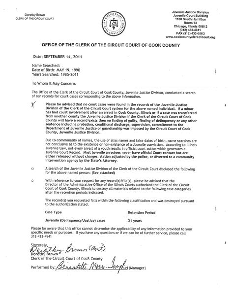 Sle Of Community Service Letter For Court Prison Culture 187 2011 187 September