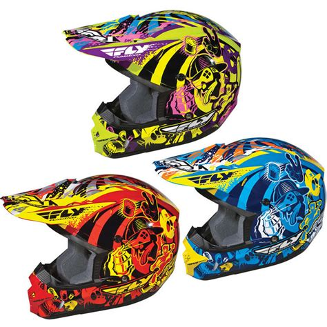 fly racing motocross helmets fly racing youth kinetic graphiti motocross helmet