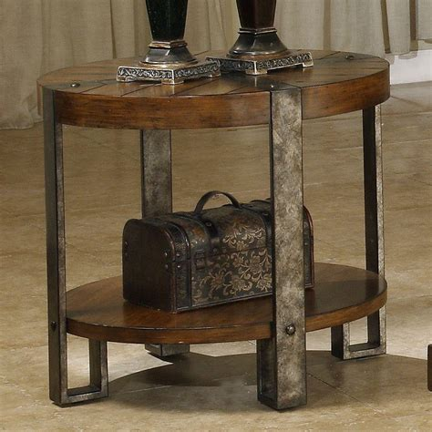 living room end table riverside living room round end table 3409 fiore