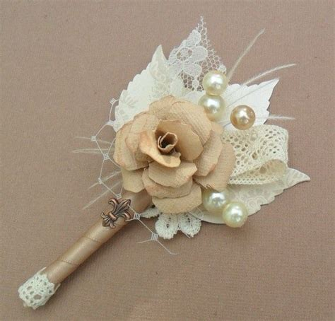 bridal shower corsage ideas vintage corsage wedding hairpiece