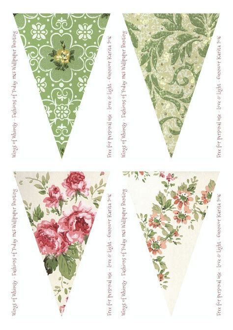 vintage bunting template 17 best images about banners bunting on