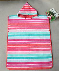 hooded bath towels for toddlers 100 cotton hooded poncho towels for rainbow towel