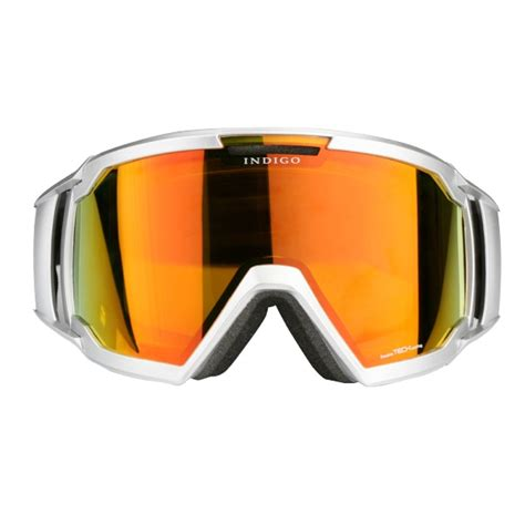 snow goggles indigo snow goggles edge in silver
