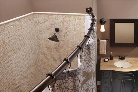 putting up shower curtain rod how to put up a shower curtain rod on tile best