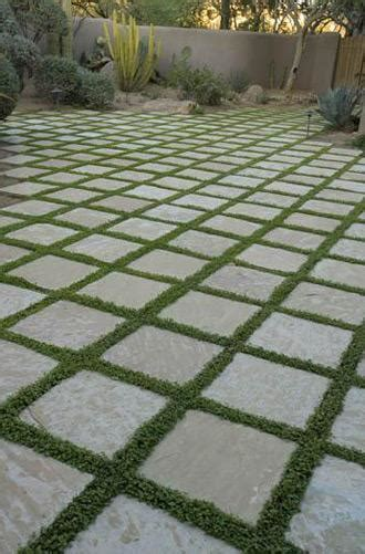 outdoor tiles with grass for grout apartment therapy re nest