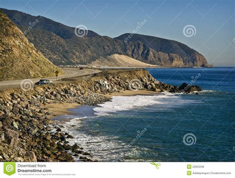 Pch In California - pacific coast highway california stock photo image 22625538