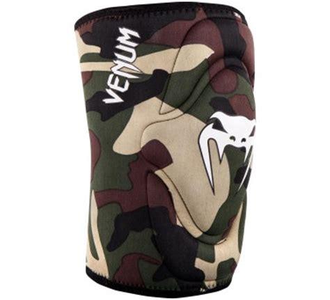 Venum Kontact Gel Knee Pad Camo Pair venum kontact gel knee pad neopren gel mma muay thai
