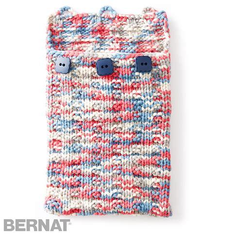 knitting pattern maker free bernat undercover knit tablet case knit pattern
