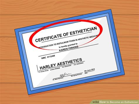 Pdf Steps To Becoming An Esthetician by How To Become An Esthetician With Pictures Wikihow