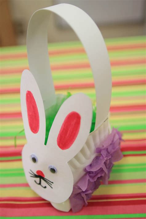 Paper Plate Easter Basket Craft - mrs ricca s kindergarten easter