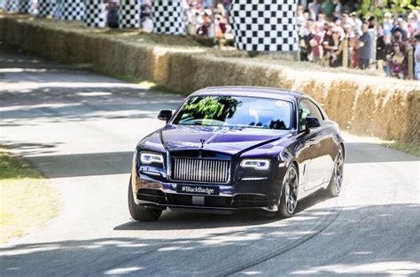 roll royce dawn black rolls royce dawn black badge debuts at goodwood festival