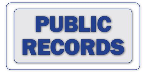 Home Public Records by Public Records May