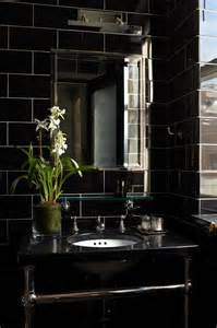 Black Bathroom Tile Ideas 32 Black Bathroom Wall Tile Ideas And Pictures