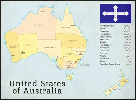 map of australia with states map thread xi page 83 alternate history discussion