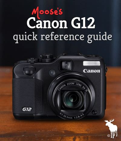 canon g12 quick guide: tips & resources for beginners