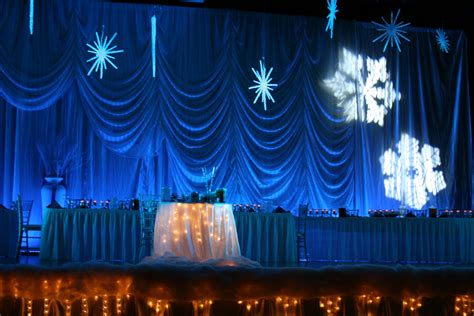 weddings party snow decorations party themes inspiration
