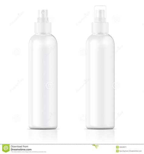 bottle design template white sprayer bottle template stock image image 33528371