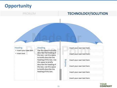 umbrella pattern antenna ppt vc template editable powerpoint template
