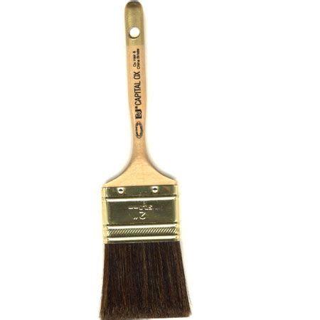 elder jenks  capital ox ear hair brush  varnish