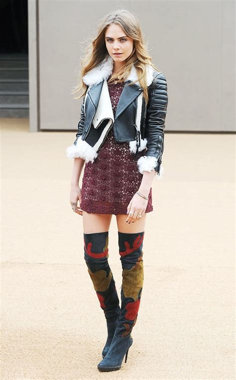 winter ideas with thigh high boots fashion