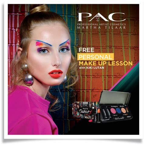 Make Up Pac pac free make up lesson central department store indonesia