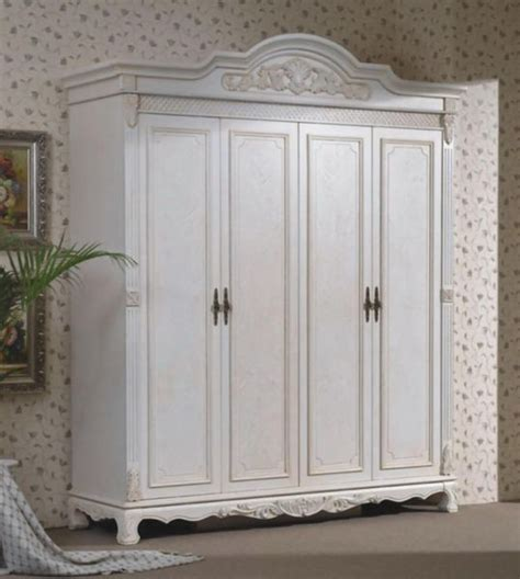 How To Paint A Wooden Wardrobe White by Wardrobe Closet Wood Wardrobe Closet White