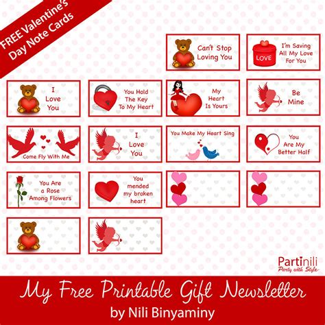 printable valentine note cards printable note cards