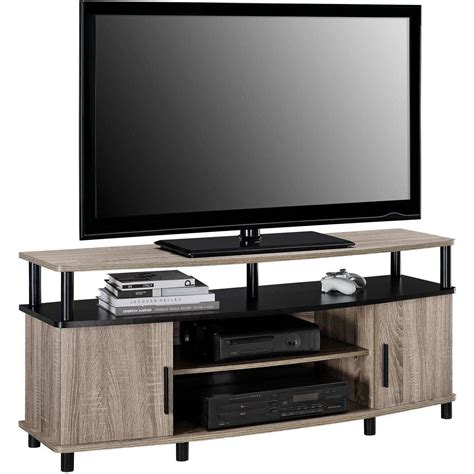 Living Room Tv Stand - tv stand oak carson sonoma for tvs up to 50 quot living room