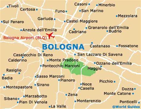 map of italy bologna bologna transport and car rental bologna emilia romagna