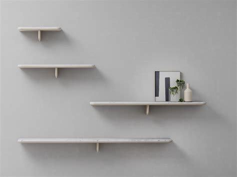 wall shelves egala carrara marble wall shelf by retegui design jean