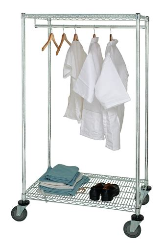 wrcgr 63 2460 mobile garment rack 24 quot d x 60 quot w x 69 quot high