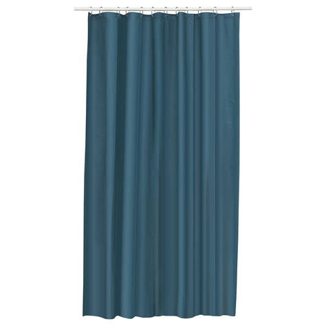 Curtains As Shower Curtains by Eggegrund Shower Curtain Green Blue 180x180 Cm